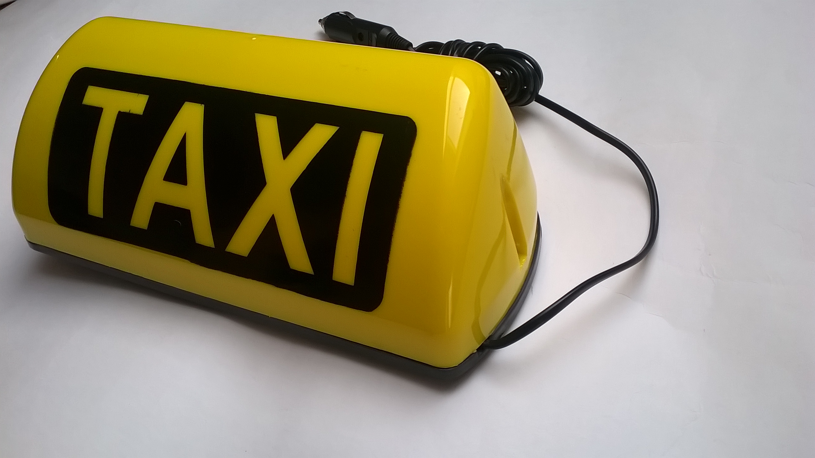 Taxi transparent city 12V